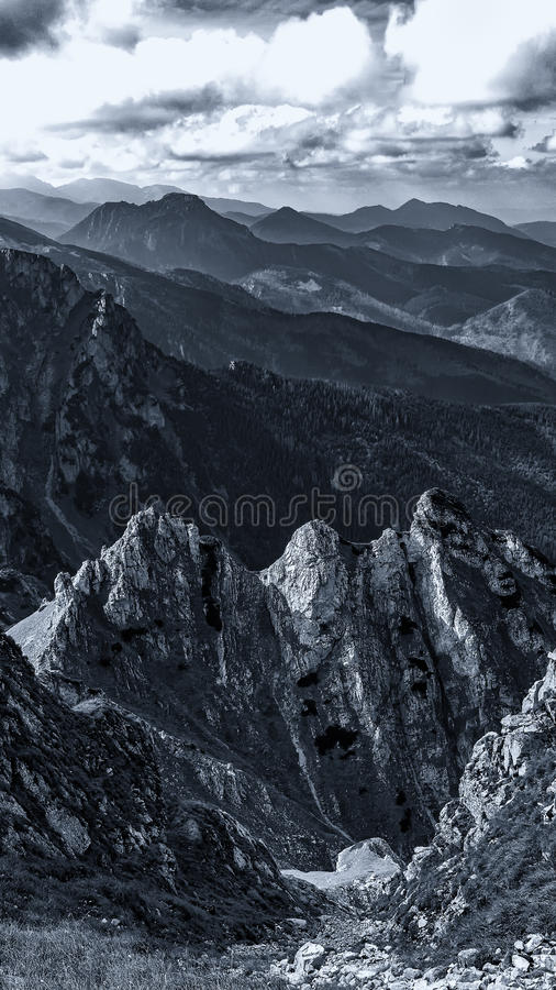 Download Mały Giewont, Mountain In Polish Tatras, Western Tatras Mountain In Poland Stock Photo - Image: 90094187
