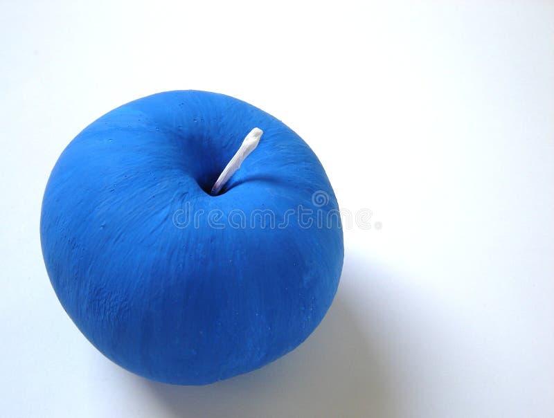 Maçã azul imagens de stock