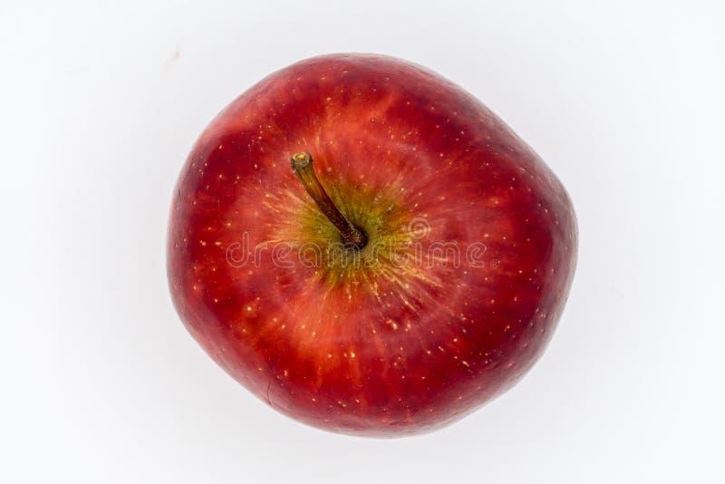A maçã na vista superior fotos de stock royalty free