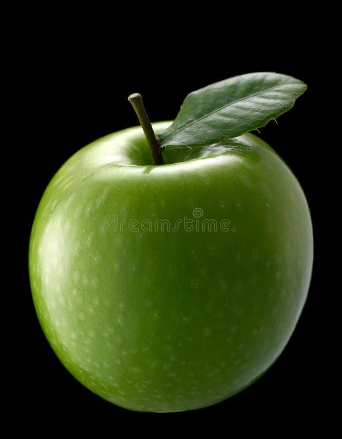 Maçã verde foto de stock