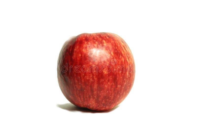 Maçã vermelha grande do jardim 2 foto de stock