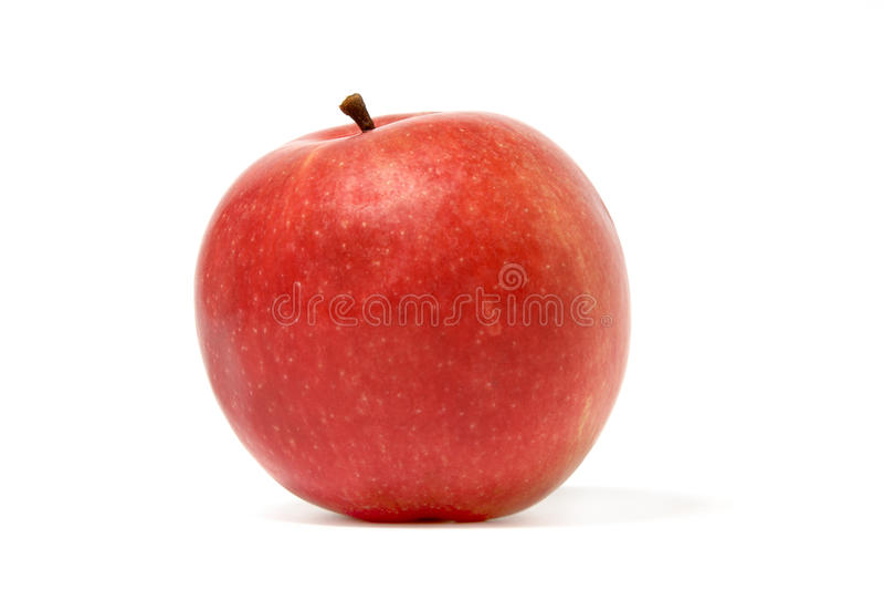 Maçã vermelha madura fotos de stock