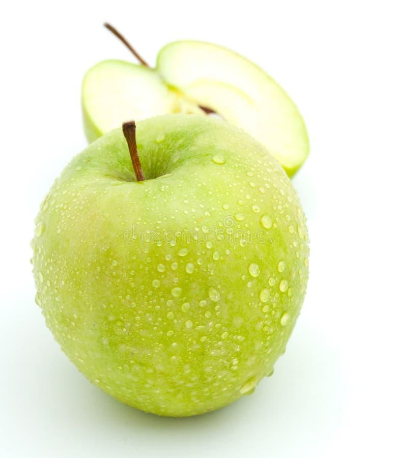 Download Maçãs verdes foto de stock. Imagem de branco, planta - 16867708