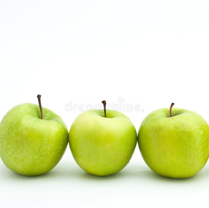Download Maçãs verdes imagem de stock. Imagem de saudável, grupo - 16867721