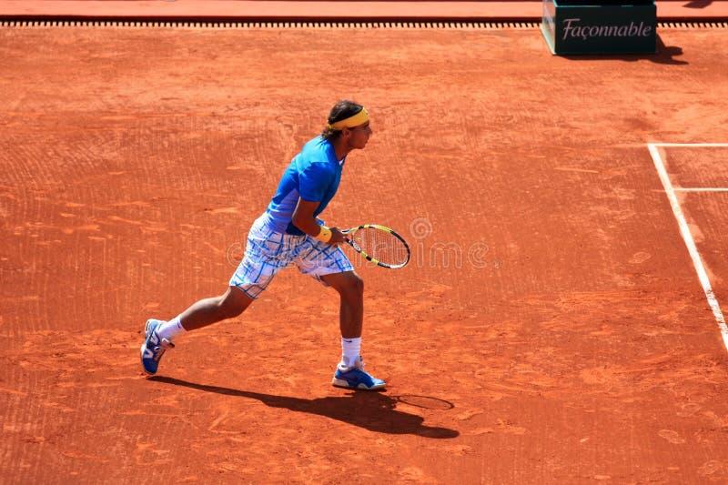 Maître 3 de Nadal Monte Carlo Rolex images libres de droits