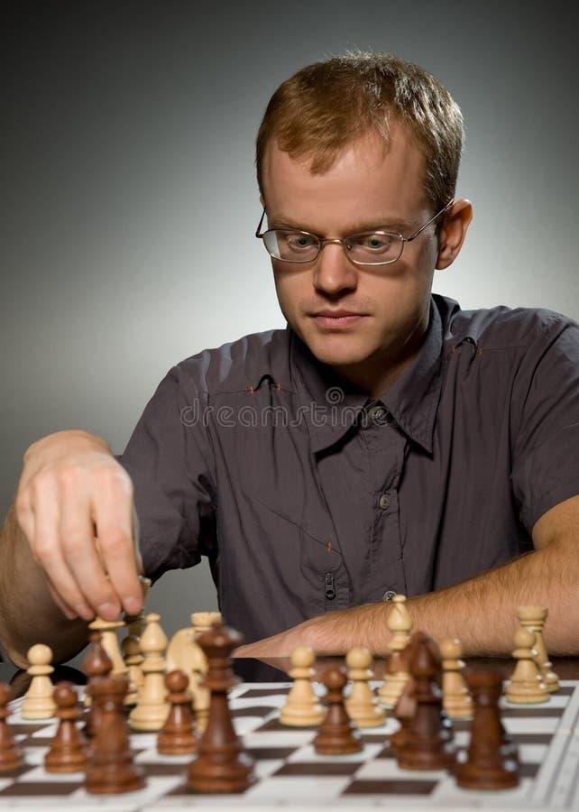 Maître d'échecs photographie stock libre de droits