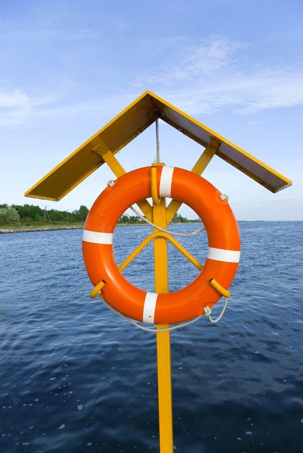 Maître nageur en service image stock