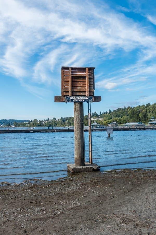 Maître nageur Tower image stock