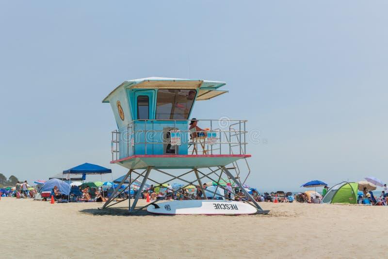 Maître nageur Tower photo libre de droits