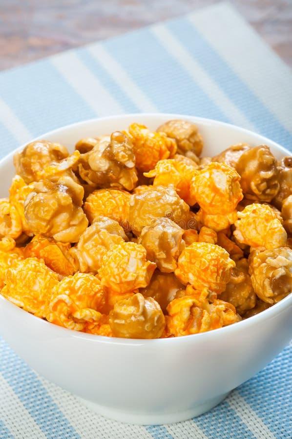 Maïs éclaté aromatisé photo stock