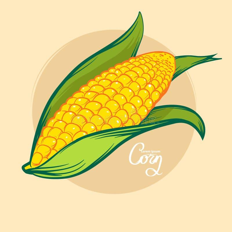 Maïs illustration libre de droits