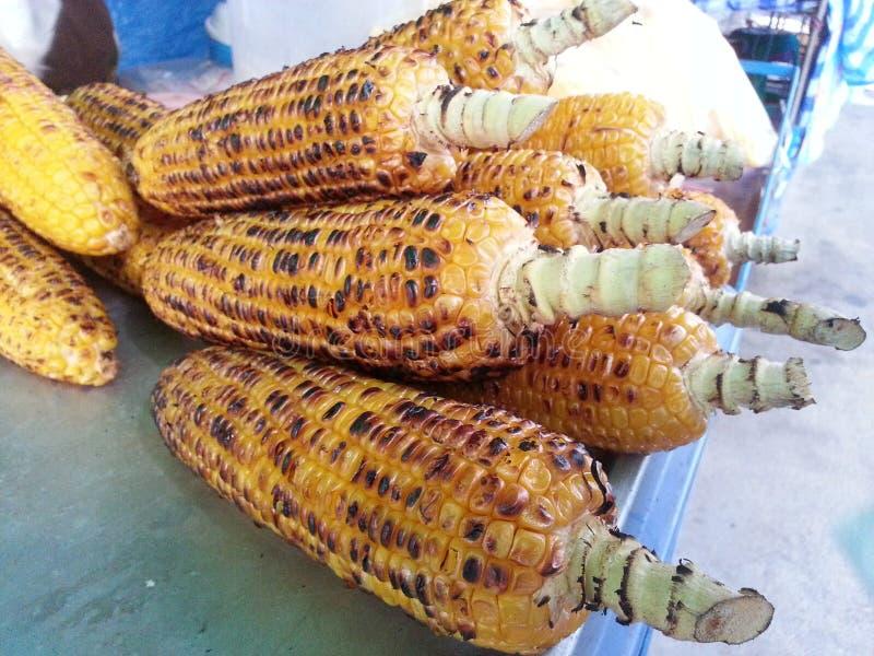 Download Maïs grillé photo stock. Image du enroulé, épi, américain - 45367498