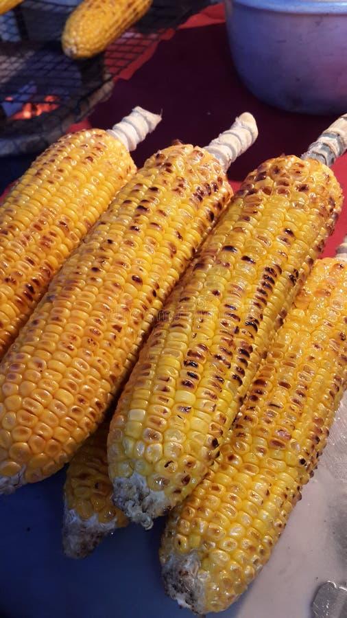 Maïs grillé photos stock