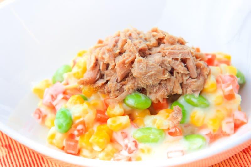 Maïs Tuna Salad images stock