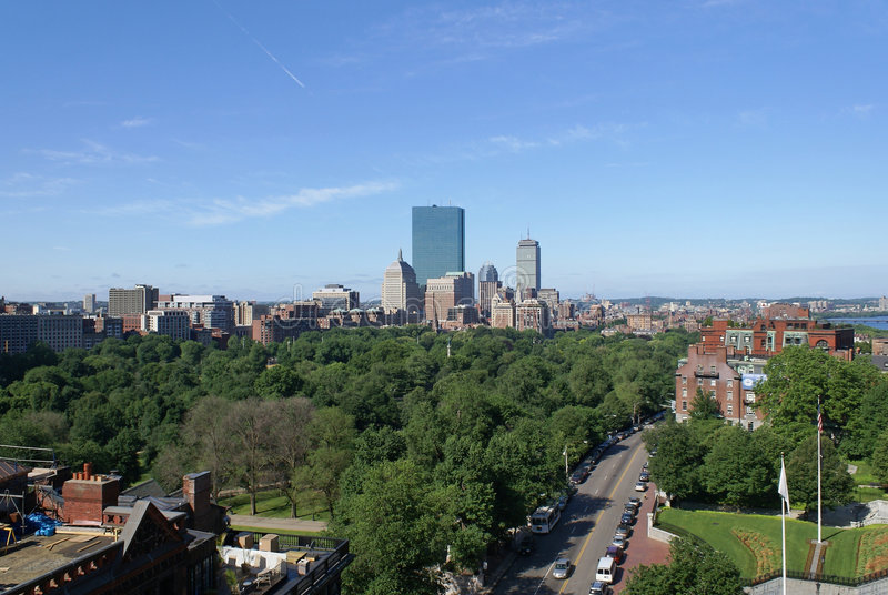Mañana de Boston imagenes de archivo