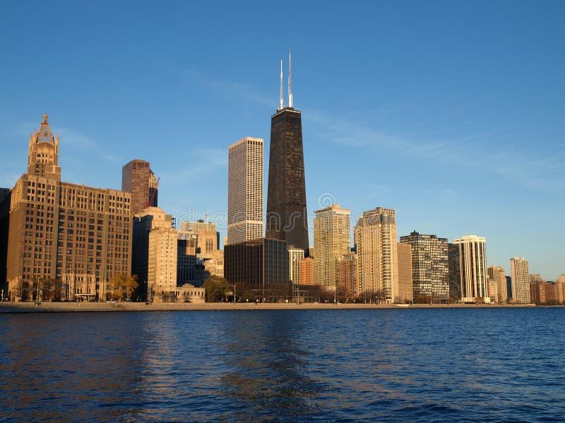 Mañana de Chicago fotografía de archivo libre de regalías