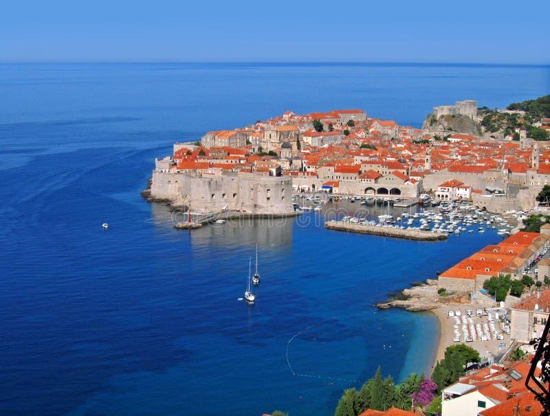 Mañana de Dubrovnik, Croatia imagen de archivo libre de regalías