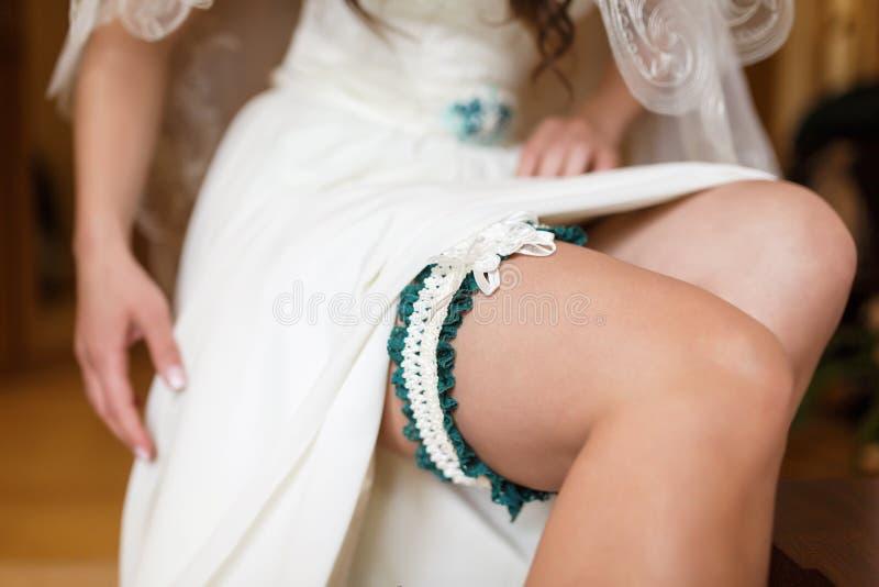 Mañana de la novia fotografía de archivo libre de regalías
