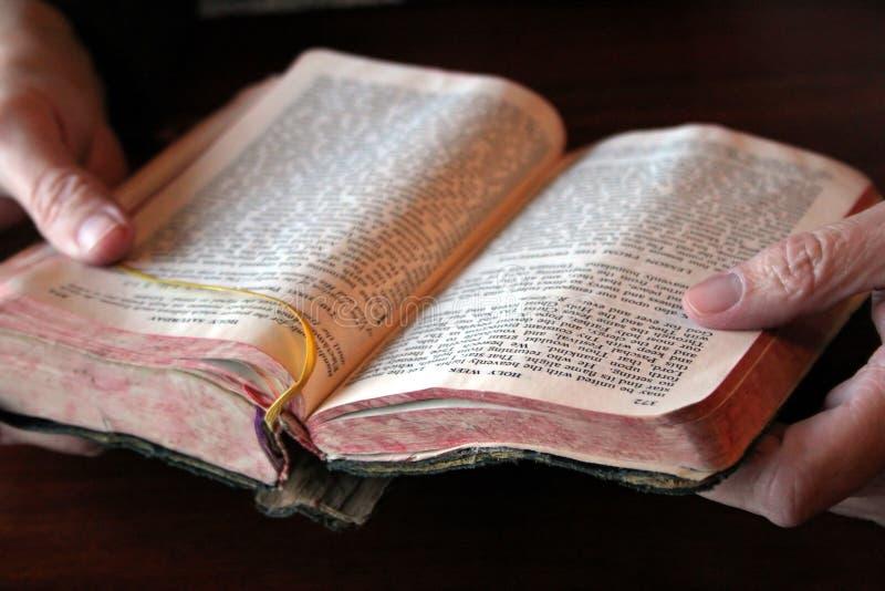 Mañana de oración imágenes de archivo libres de regalías