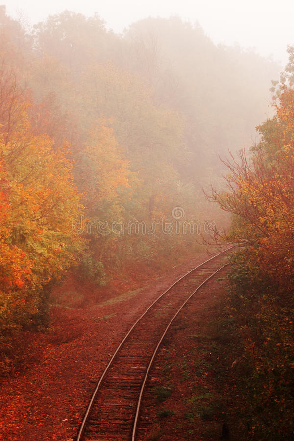 Mañana del otoño fotos de archivo libres de regalías