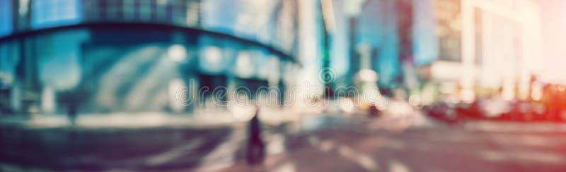 Mañana del verano del paisaje urbano foto de archivo