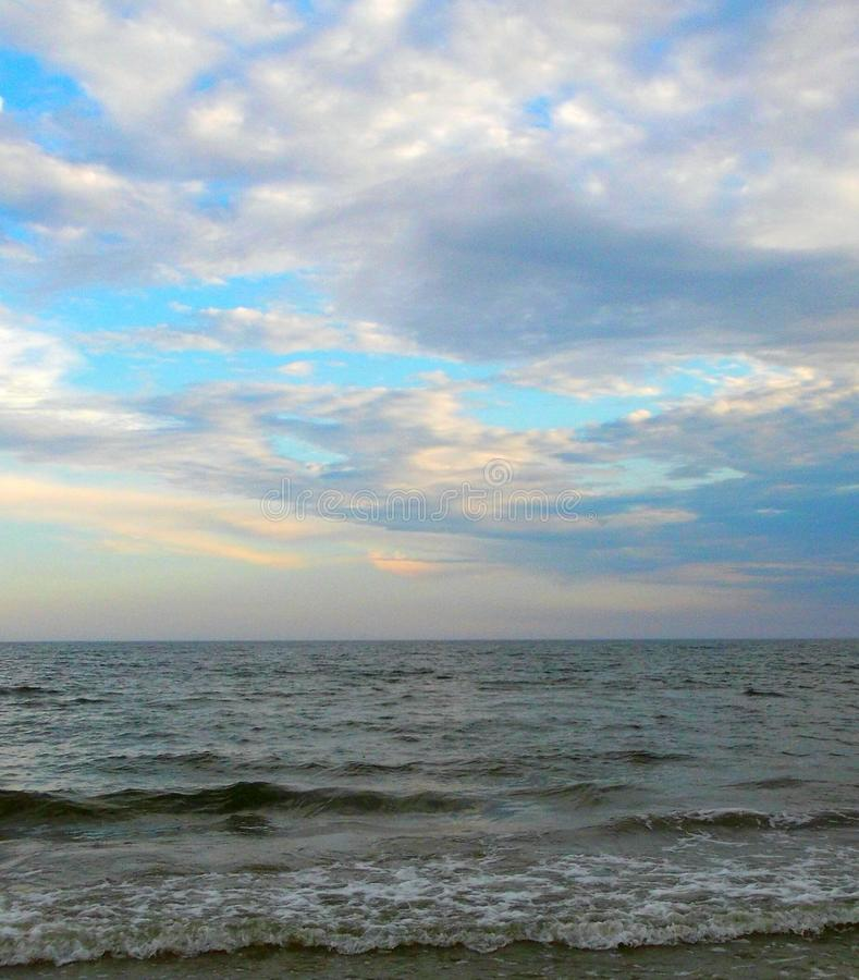 Mañana en el mar fotos de archivo libres de regalías