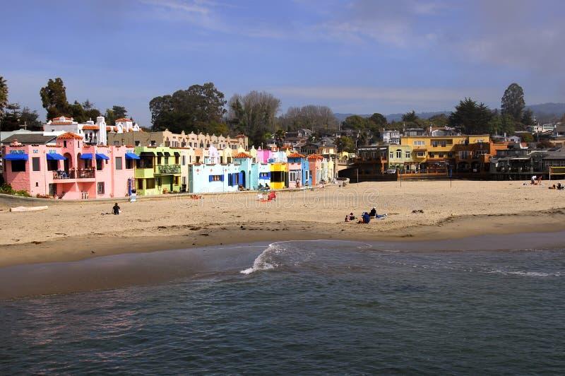Mañana en la playa fotos de archivo