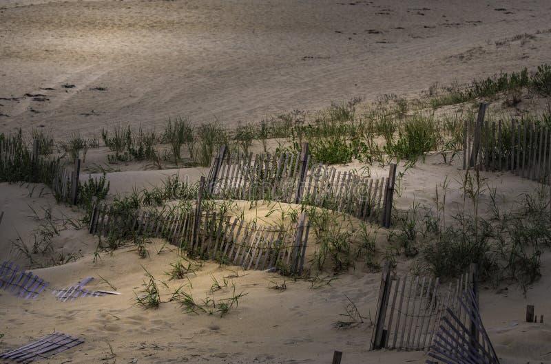 Mañana en la playa en cabeza de las quejas foto de archivo libre de regalías