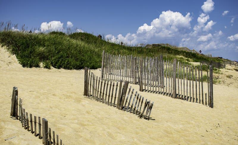 Mañana en la playa en cabeza de las quejas imagenes de archivo