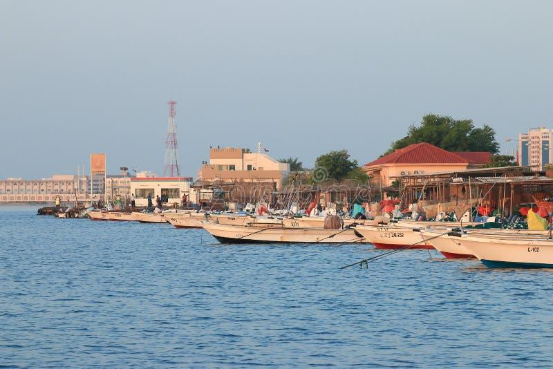Mañana en Umm al-Quwain fotografía de archivo libre de regalías