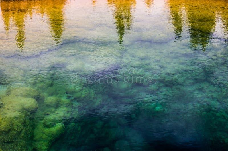 Mañana Glory Pool imagen de archivo libre de regalías