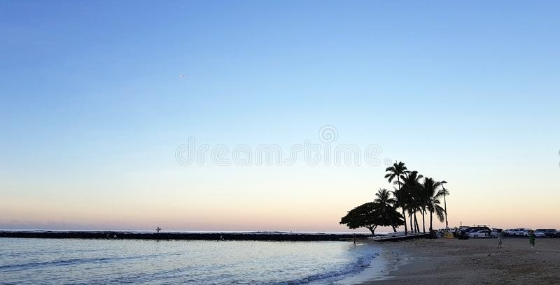 Mañana hawaiana encantadora del otoño imágenes de archivo libres de regalías