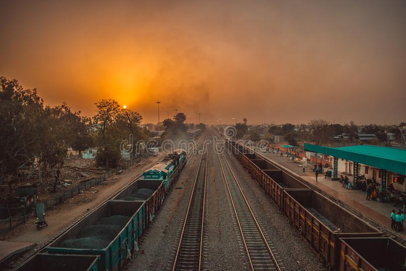 Mañana hermosa de Jaipur, Rajasthán fotos de archivo libres de regalías