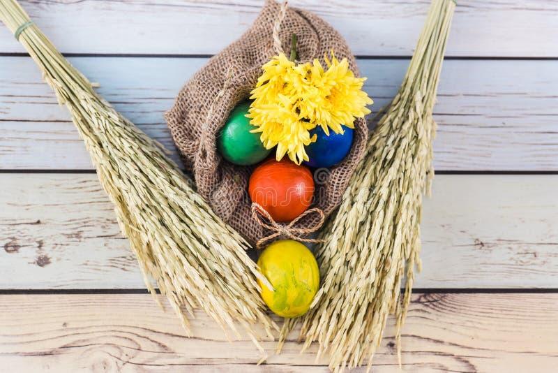 Mañana hermosa de Pascua fotografía de archivo