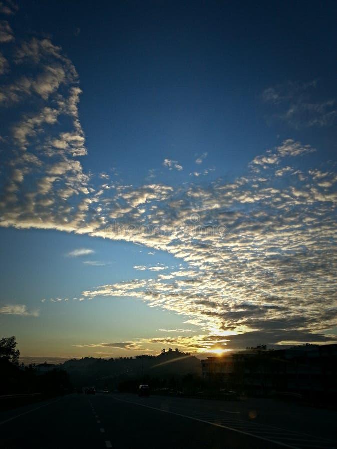 Mañana Sun foto de archivo