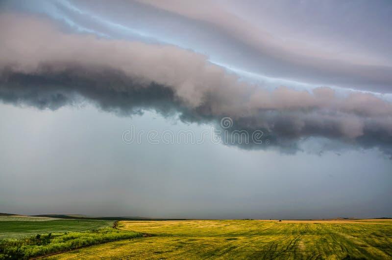 Mañana tempestuosa 2 fotografía de archivo libre de regalías