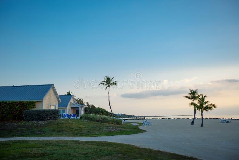 Mañana tranquila en el largo dominante, la Florida foto de archivo