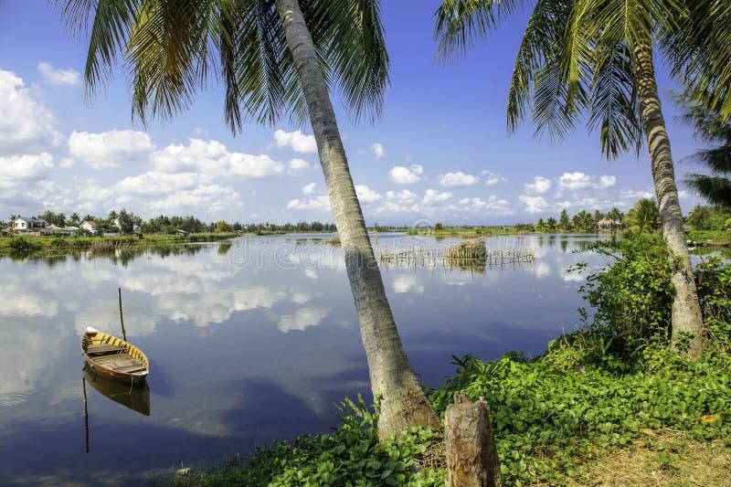 Hoi-an jeziora, Vietnam 5 obrazy royalty free