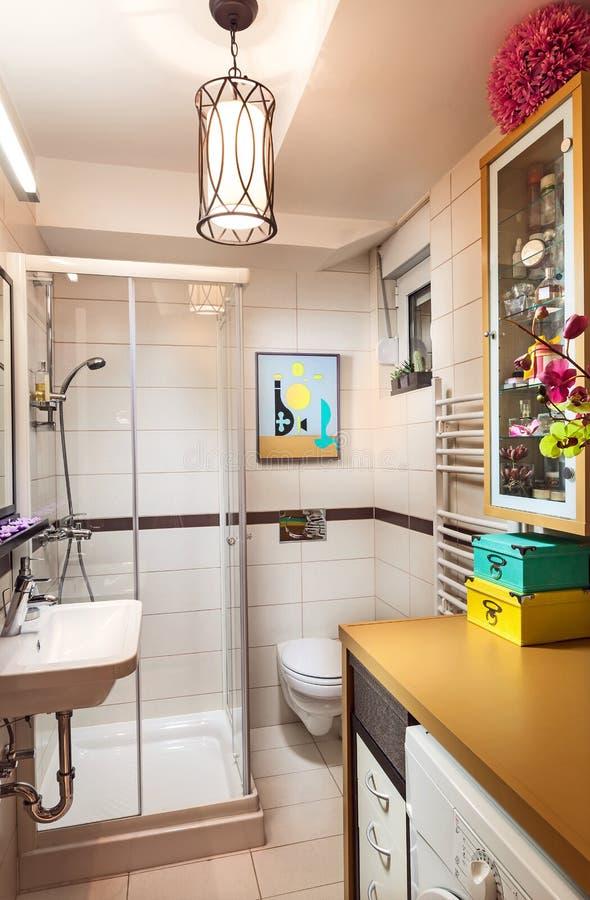 Mała łazienka obraz royalty free