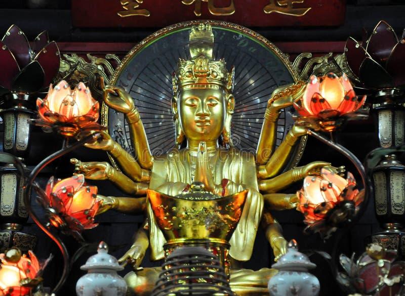 Mała świątynia poświęcać Avalokitesvara Boddhisatva Jeden filar p zdjęcia stock