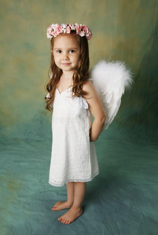 mała anioł dziewczyna zdjęcia royalty free