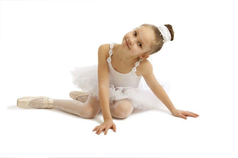 mała baleriny dziewczyna obraz royalty free