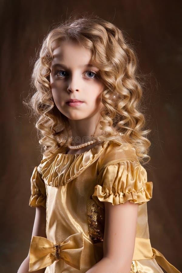 mała blondynki dziewczyna obraz royalty free