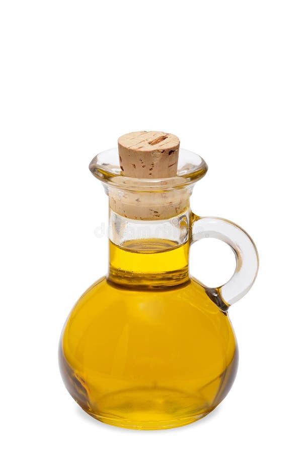 Mała butelka oliwa z oliwek obraz stock