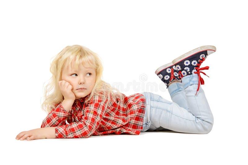 Mała córka zdjęcia royalty free