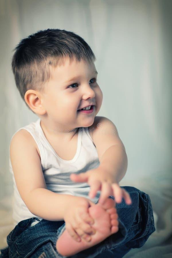 Mała chłopiec obrazy royalty free