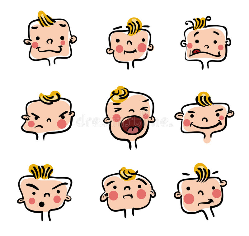 mała chłopiec ilustracja ilustracja wektor
