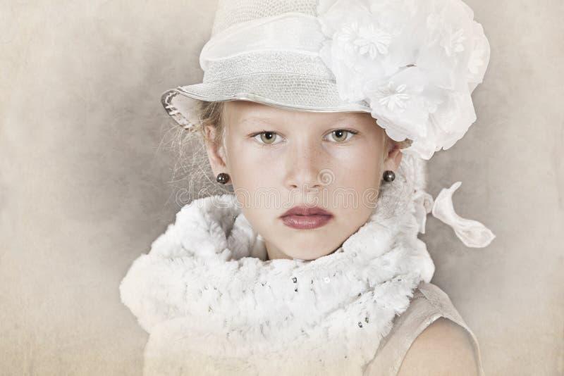 Mała dama obrazy royalty free