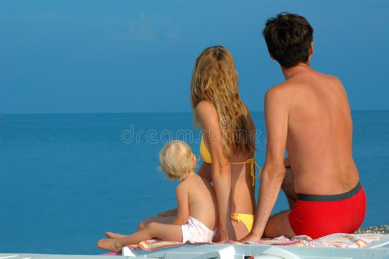 mała dziecko rodzina zdjęcie royalty free