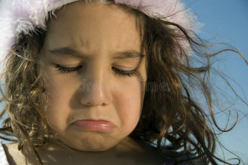 mała dziewczyna płacze zdjęcia royalty free